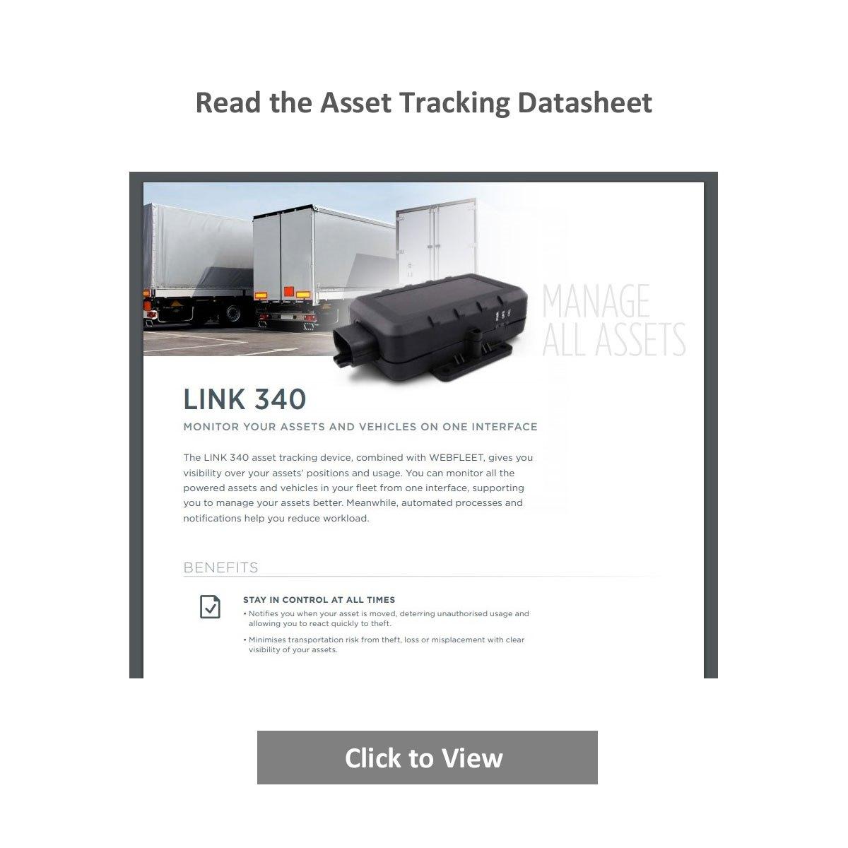 Link 340 Asset Tracking Datasheet